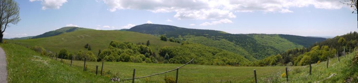 Panorama vers le mont aigoual