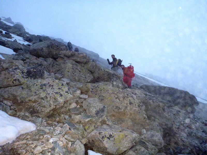 La grimpette se précise