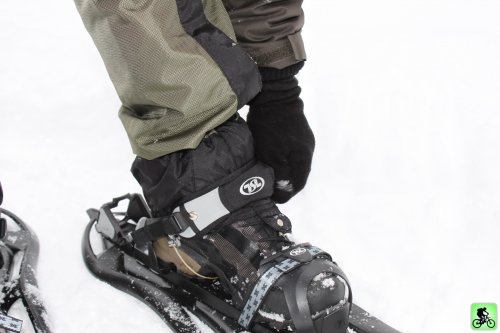 Salomon Revo SCS GTX sur raquette de neige TSL 325 Escape easy