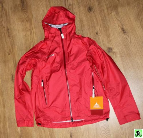 Veste Vaude slight jacket rouge