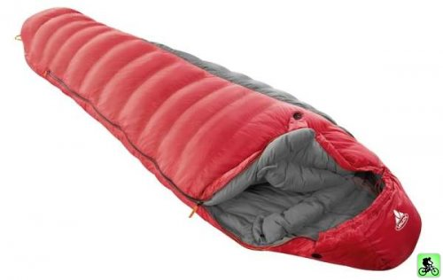et si on bougeait en vtt test bivouac test du sac de couchage hivernal vaude ice peak 1000. Black Bedroom Furniture Sets. Home Design Ideas