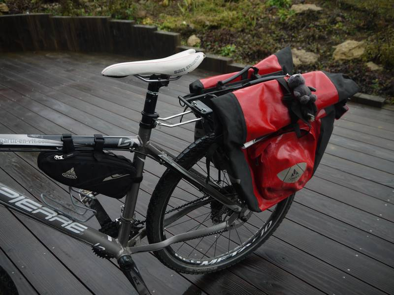 extension attache rapide v lo tubus pour porte bagage arri re porte bagage attach avec sacoches. Black Bedroom Furniture Sets. Home Design Ideas
