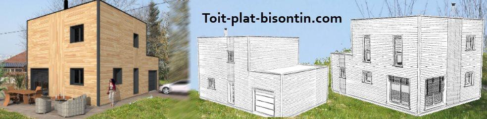 Notre maison ossature bois suivi d 39 une construction for Structure toit terrasse